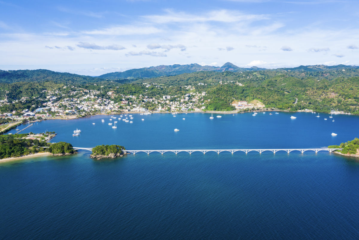 HSB Santa Barbara of Samaná Bridge at Hacienda Samaná Bay